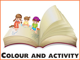 Colour and activity books