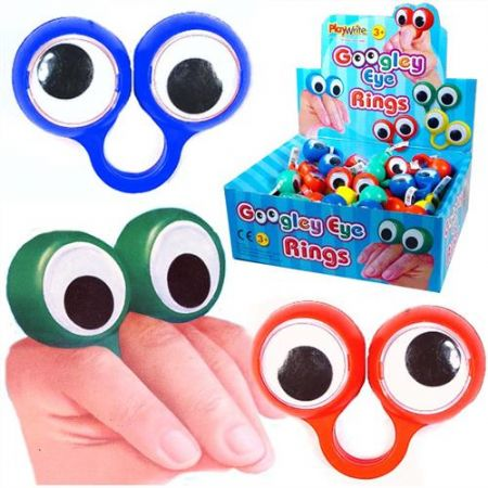 60 Googley eye ring