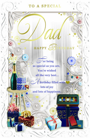 Large Xpress Yourself Dad Birthday Cards