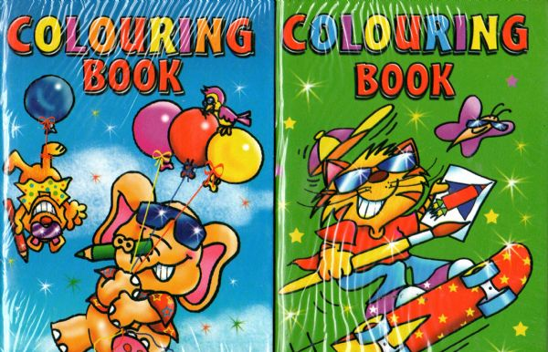 pack of 24 a6 colouring books - Colouring Books