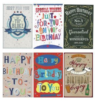 Andersons exclusive box of 72 assorted male contemporary open andersons exclusive box of 72 assorted male contemporary open birthday cards m4hsunfo