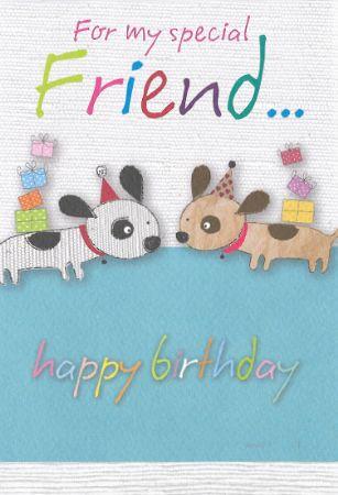 Bon Bon Birthday Cards Friend Male Relations And Friends Wgc Bb214