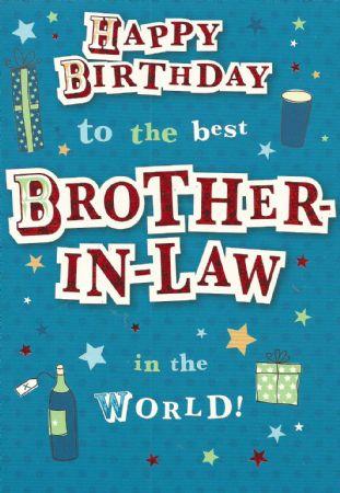 Design Studio Birthday Cards Brother In Law