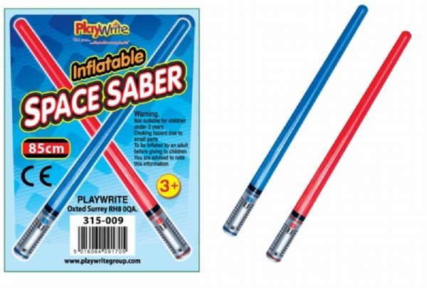 Single inflatable light saber
