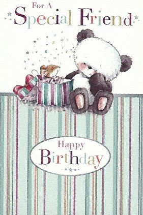 Simon Elvin Greetings Birthday Cards Special Friend
