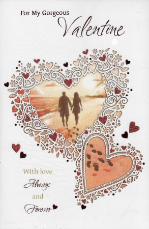 Large Iparty wholesale Valentine cards open