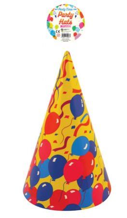 Pack of 144 Balloon party hats
