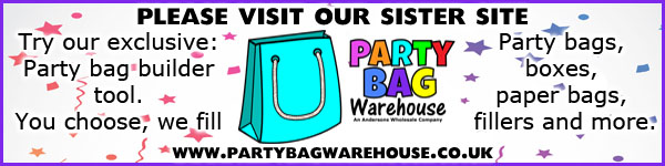Party bag warehouse ad