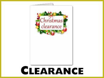 Clearance Christmas cards